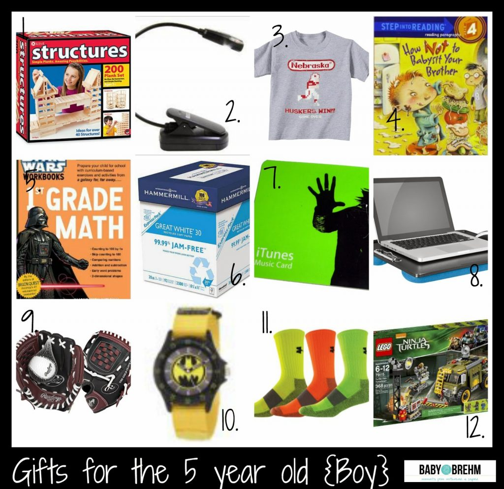 Beautiful Christmas Gifts For 5 Year Old Boy 2014 Part - 8: Gift Ideas For The 5 Year Old {Boy}
